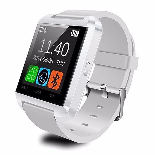 38 opinioni per LEMFO- Smartwatch Bluetooth U8 UWatch per Smartphones IOS Android Apple
