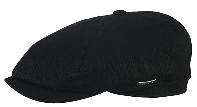 Stetson Brooklin Canvas Newsboy Cap  Amazon.co.uk  Clothing 4795fa902f7