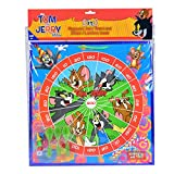 Warner Bros Tom and Jerry 2 in 1 MDF Dart Board, Multi Color
