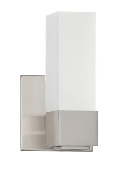 Kendal Lighting Vf3400 1l Sn Madison 1 Light Wall Sconce Satin