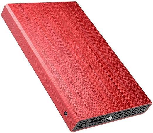 外付けハードディスク HCGS 外付けハードディスク500GB2.5インチUSB3.0ハードディスクオリジナル HDDノートパソコンデスクトップ用500GBPC160GB赤