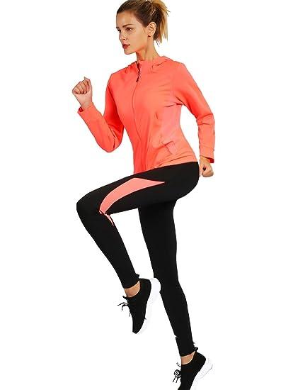 55a4b938036e Activewear Sets for Women-Track Leggings Pants Hoodie Jackets 2 Piece Set  Tracksuits Yoga Outfit Jogging Workout Set Gymwear