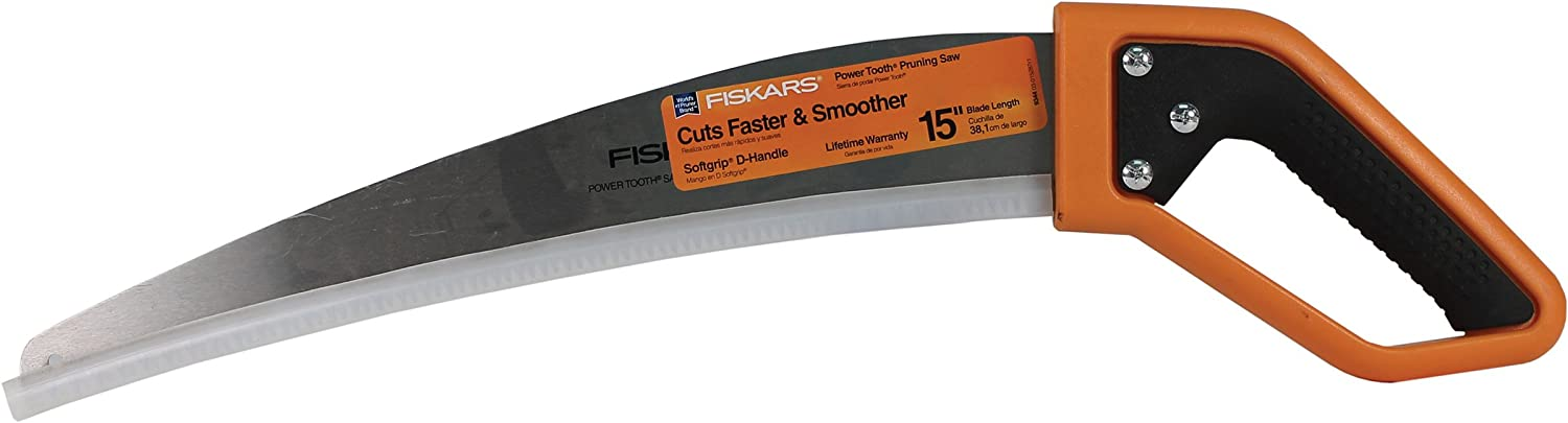 Fiskars 15 Inch Pruning Saw with Handle