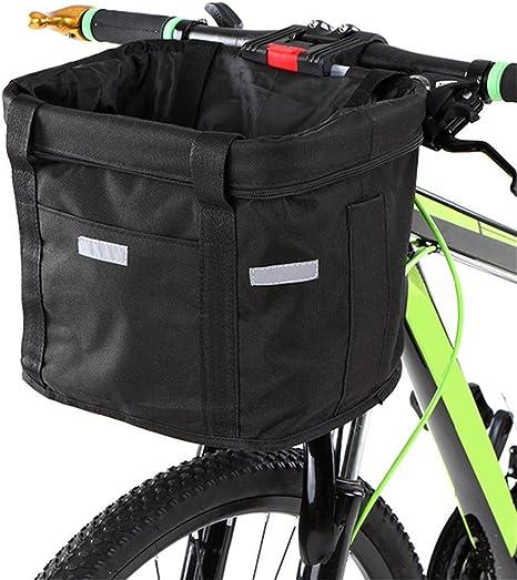 FJHLZ Canasta De Bicicleta Cesto De La Bicicleta Desmontable ...