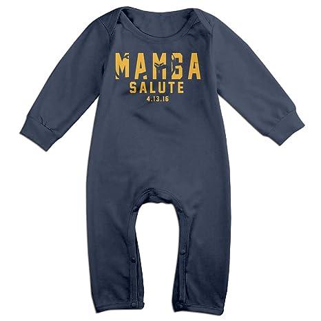Mamba Day Mamba Salute 2016.4.13 Romper Jumpsuit Navy Kids Baby ... a38b8dae75e9