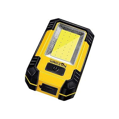 WARSUN Portable LED Rechargeable Work Light,Magnetic Base & Hanging Hook