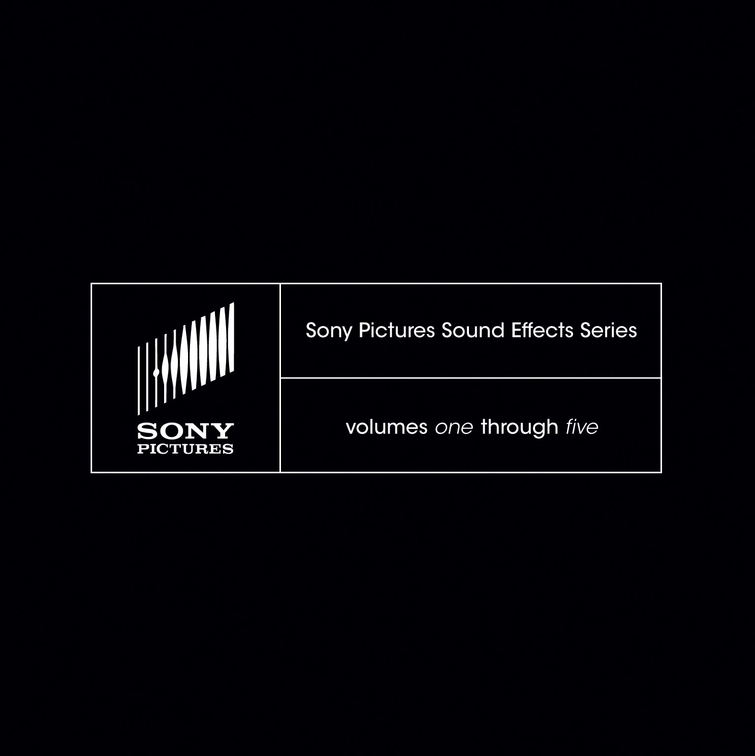 Sony Pictures Sound Effects Series Volumes 1-5 Sony Creative Software SSDS1000 4165248