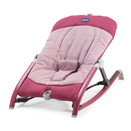 Chicco Pocket Relax - Hamaca ultracompacta y ligera, hasta 9 kg, color rosa