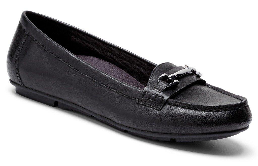 Vionic Women's Chill Kenya Loafer (Black, 7)