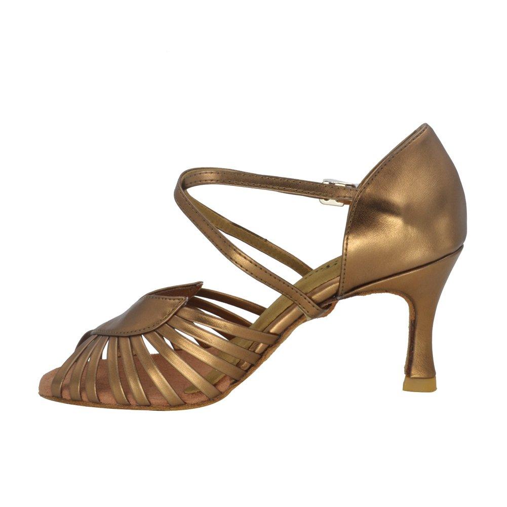 Damen Latein Tanzschuhe für Erwachsene Square Dance gehen gehen gehen den Weg der Schuhe weiche Bull-Tanz Schuhe am Ende des B01N9G29MW Tanzschuhe Hochwertige Produkte 9633bf