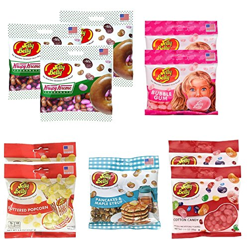 Jelly Belly Assorted Pack of 10   Favorite Flavor Pack