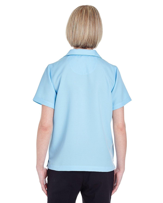 UltraClub Womens Solid Camp Shirt
