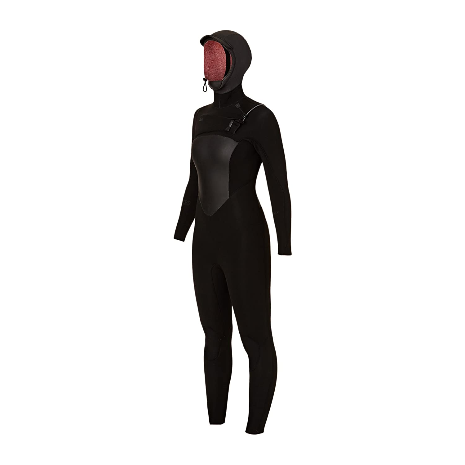 Amazon.com  XCEL Womens Infiniti 5~4mm 2018 Hooded X2 Chest Zip Wetsuit 14  Reg Black Black Logos  Sports   Outdoors 0016e39ad