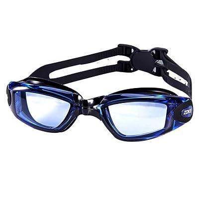 Les lunettes de natation adultes HD brouillard imperméable ne conduisent pas les hommes et les femmes grandes boîtes lunettes de natation professionnelles