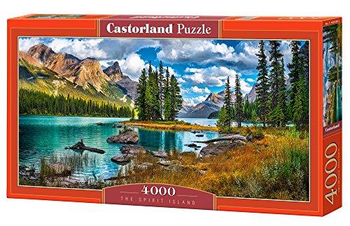 Castorland - Spirit Island 4000 piece panoramic puzzle
