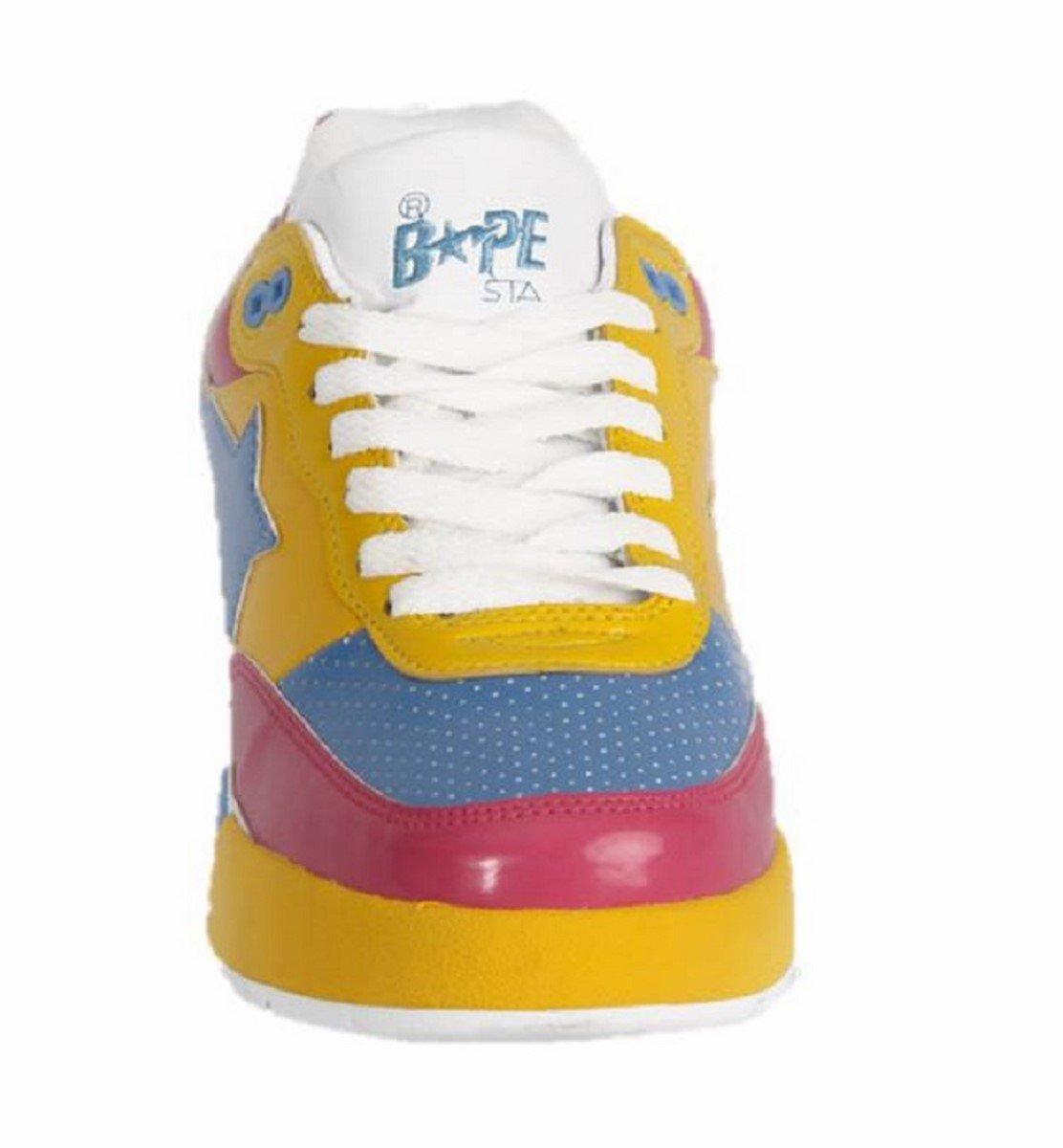 Bathing Ape Bapesta Bapesta Bapesta Bape Sneakers Rosa/JADE/Amarillo cd8e10