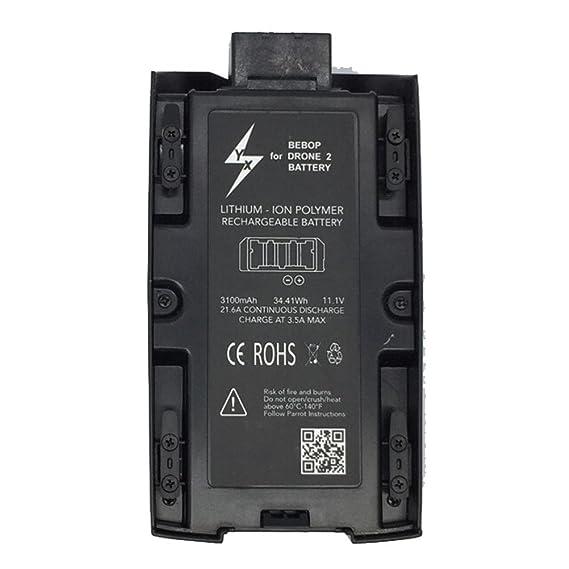 Zarupeng Batería Recargable de Lipo de Alta Capacidad 3100mAh 11.1 ...