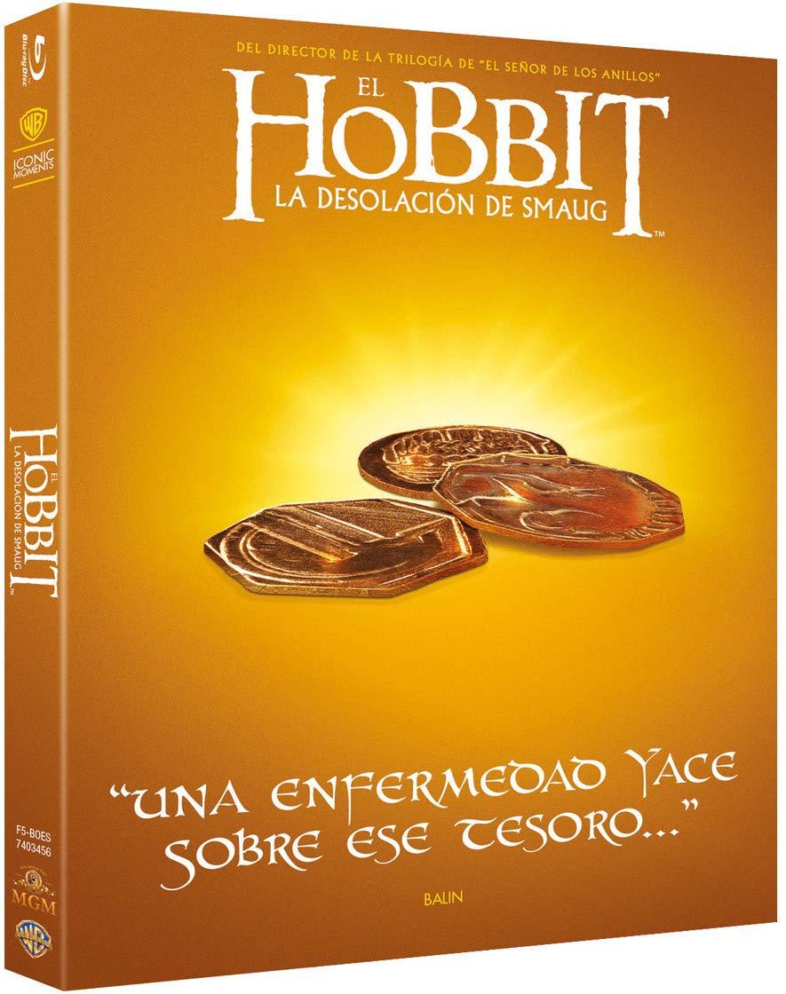 El Hobbit 2: La Desolación De Smaug Blu-Ray Iconic Blu-ray: Amazon ...