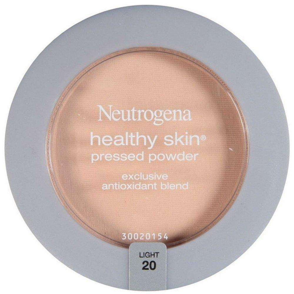 Neutrogena Healthy Skin Pressed Powder, Light [20] 0.34 oz