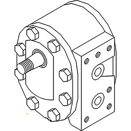 Amazon Com 527397r93 New Hydraulic Pump Made To Fit Case Ih Tractor