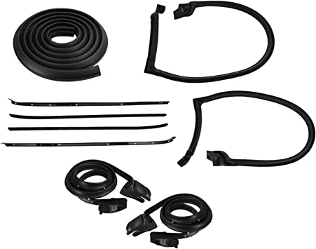 1970-81 Chevrolet Camaro  Belt Weatherstrip Kit
