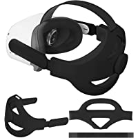Eyglo Replace Adjustable Elite Strap for Oculus Quest 2 Head Strap Headband, Enhanced Support and Reduce Head Pressure…