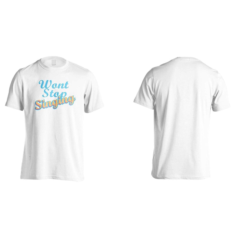 INNOGLEN Wont Stop Singing Mens T-Shirt Tee gg803m