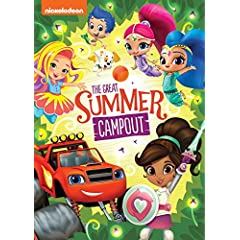 Nickelodeon Favorites: Great Summer Campout arrives on DVD June 12 from Nickelodeon