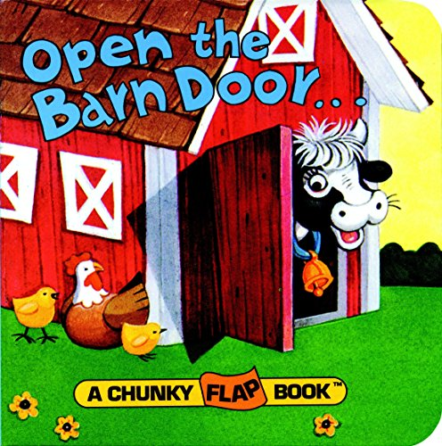 Abc Zoo Alphabet Puzzle - Open the Barn Door (A Chunky Book(R))