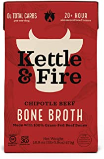 product image for Kettle & Fire, Broth Bone Beef Chipotle, 16.9 Ounce