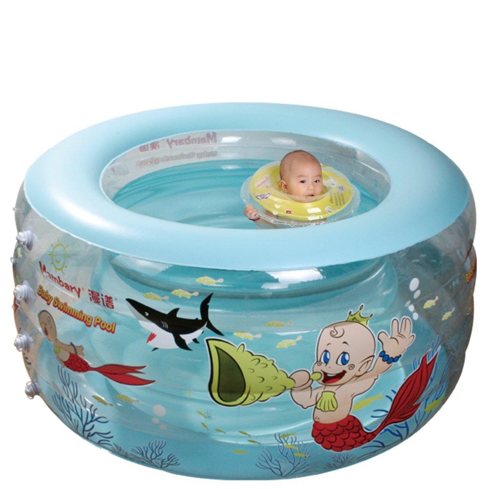 Kinder aufblasbare Schwimmbecken/Marine Kugeln Pool/Erwachsene extra große gepolsterte Bad Babyschale/Aufblasbare Schwimmbecken-B