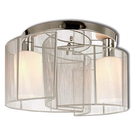 Luz de techo de diseño moderno dormitorio 2 luces, mini ...