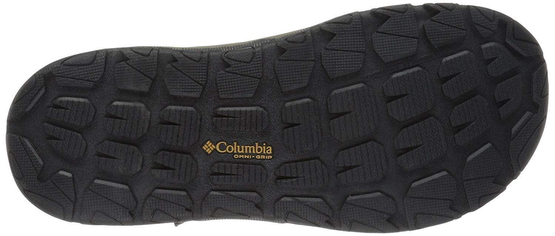 Columbia Men's Wave Train Sport Sandal, Mud, Canyon Gold, 12 Regular US by Columbia (Image #4)