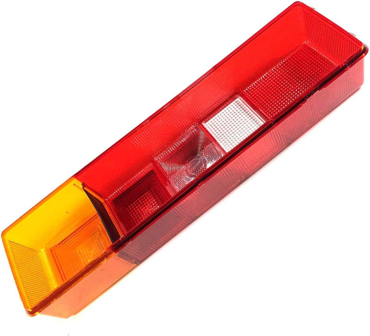 Rechts Pritsche 1x Lichtscheibe Heckleuchte Glas R/ückleuchtenglas Links o