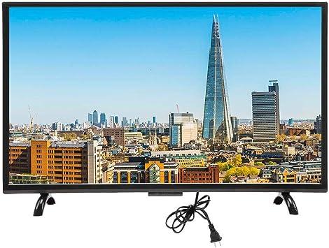 ASHATA HD LCD 4K TV, TV Curvo de Pantalla Grande de 32 Pulgadas HDMI Inteligente 3000R Curvature TV Televisión ultradelgada con HDR, 1920x1200 WiFi Smart 4K HDR HD TV 110V(EU): Amazon.es: Electrónica