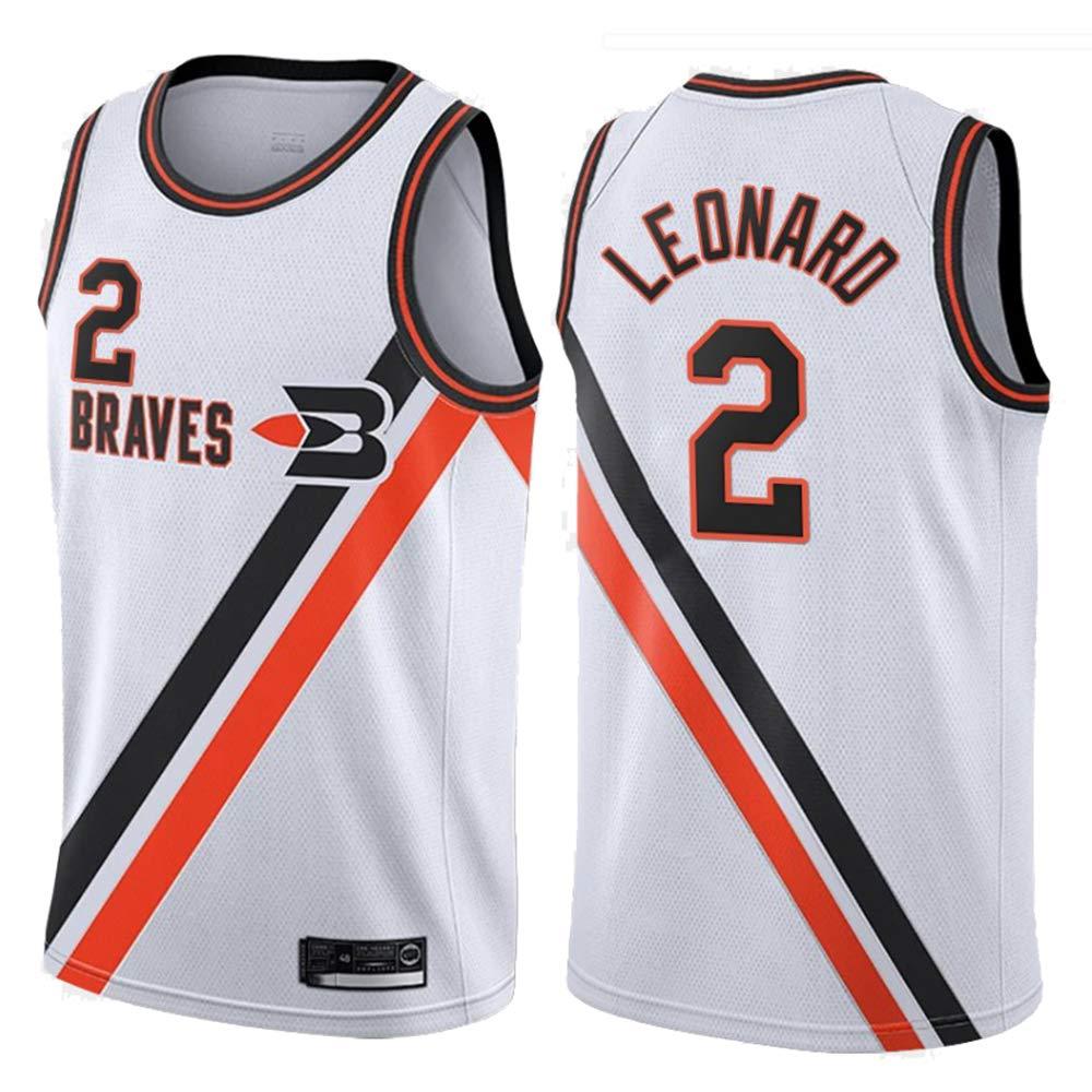 AMJUNM Clippers 2# Leonard Camiseta de Baloncesto para Hombre ...