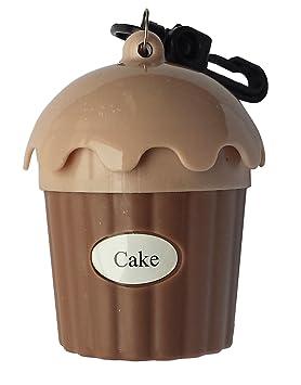 """Dispensador de Bolsas para excrementos de Perro """"Cake"""" con 15 bolsas (Capuccino"""