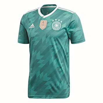 adidas Away Jersey 2018 Camiseta, Alemania, Hombre, Verde/Blanco, XS: Amazon.es: Deportes y aire libre