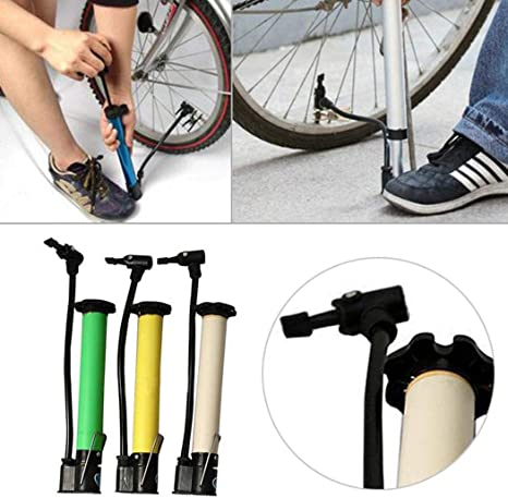 1Pc Floor Pump Portable Floor Pumps Inflator Bicycle Tire Floor Pump for Bicycle