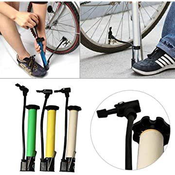 erholi New Portable Bicycle Pump Mountain Bike Mini High Pressure Pump Floor Pumps