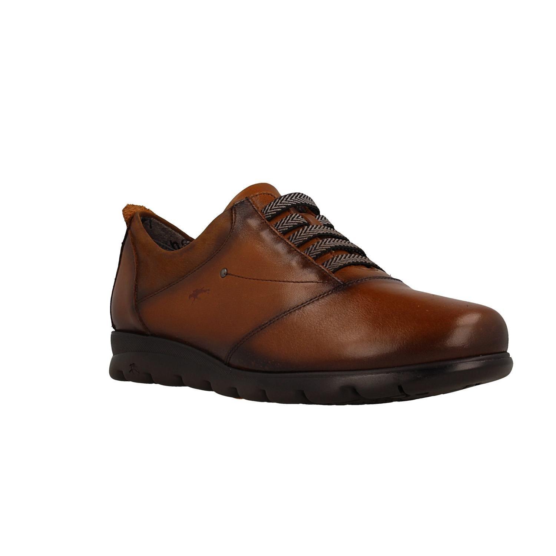 Zapato FLUCHOS F0354 Sugar Nobuck Cuero 41 EU|Marron