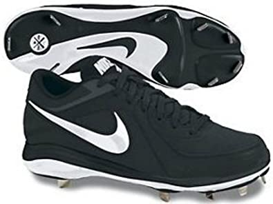 8ce8c9e0335 Nike Air MVP Pro Mens Metal Baseball Cleats (Black White