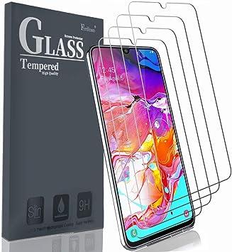 Ferilinso Cristal Templado para Samsung Galaxy A70,A70S Protector ...
