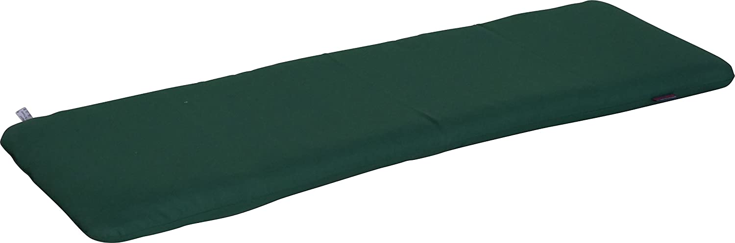 Angerer Cushion for bench 40 x 120 cm, Design Uni green (bench not included) 714/035