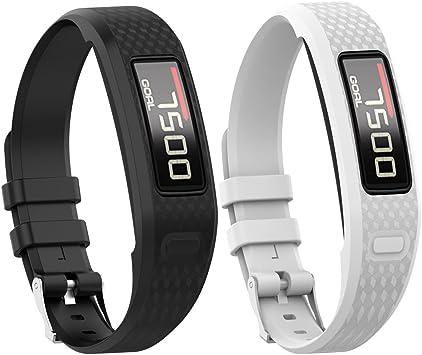 Elespoto Bracelet de montre en silicone pour Garmin vivofit 2 regarde bande de remplacement