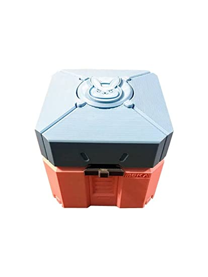 Overwatch botín caja   Overwatch chest  caja de botín de Botín   Overwatch juguete caja