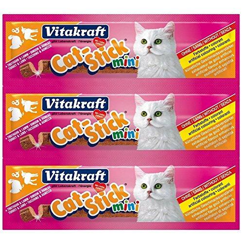 Vitakraft Cat Stick Mini (Flavour: Turkey & Lamb) (Vitakraft Cat)