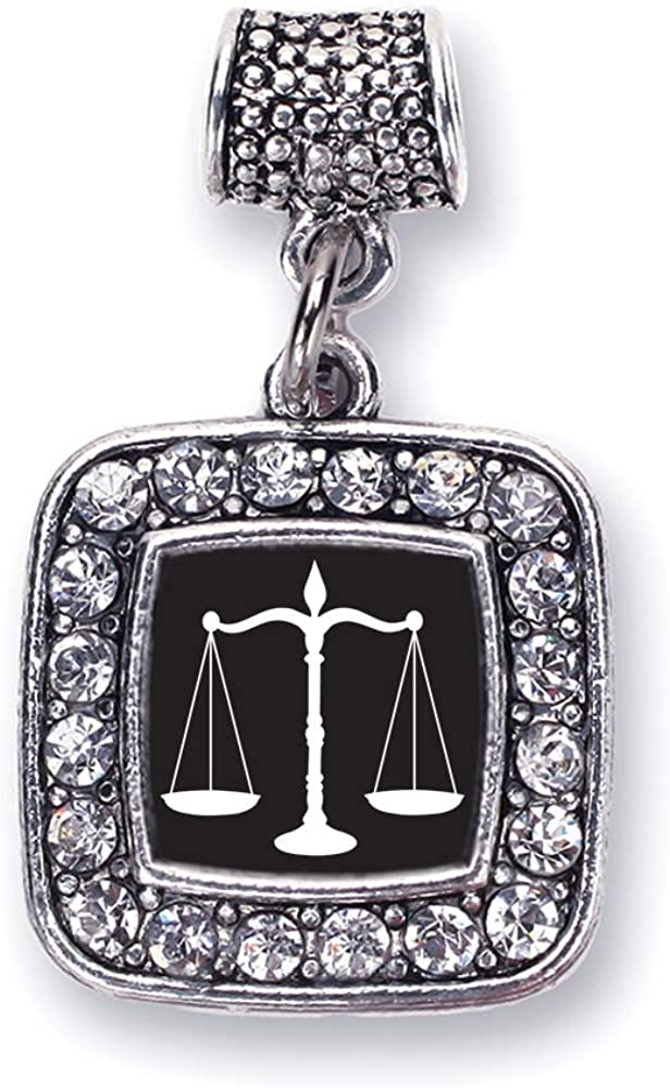 Scale Of Justice Lawyer Judge Law Student Charm Fits Pandora Bracelets Compatible With Most Major Brands Such As Chamilia Murano Troll Biagi And Other European Bracelets Amazon Ca Jewelry