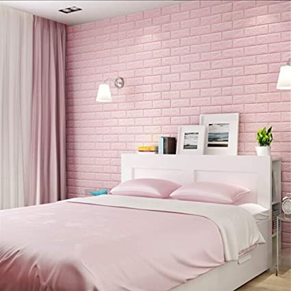 Amazon.com: Befon 3D Self-Adhesive Wall Panels Faux Foam ...