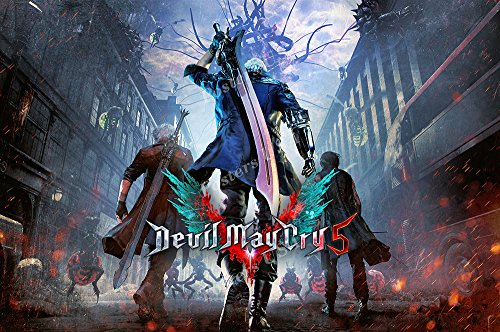 MCPosters Devil May Cry 5 PS4 XBOX ONE Poster GLOSSY FINISH - NVG209 (24